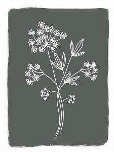 Green Botanical I by Elizabeth Tyndall
