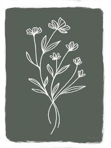 Green Botanical II by Elizabeth Tyndall