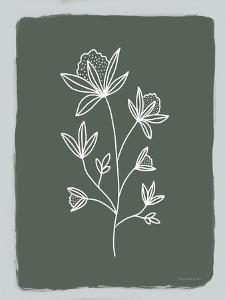 Green Botanical III by Elizabeth Tyndall