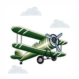 Green Plane by Elizabeth Tyndall