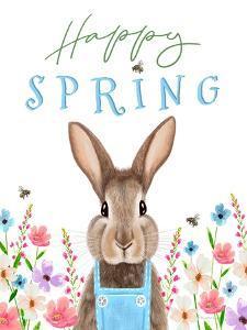 Happy Spring by Elizabeth Tyndall