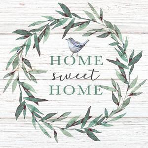 Home Sweet Home Bird by Elizabeth Tyndall