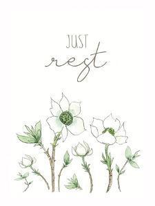 Just Rest by Elizabeth Tyndall