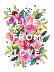 Live from Love by Elizabeth Tyndall