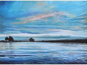 My First Sunset by Elizabeth Tyndall