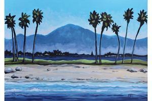 Palm Tree Oasis by Elizabeth Tyndall