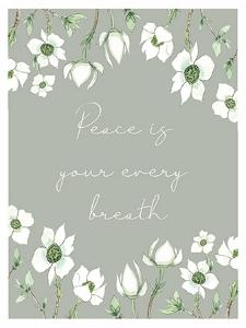 Peace Is by Elizabeth Tyndall