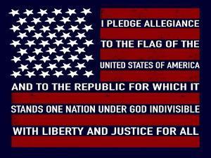 Pledge Allegiance by Elizabeth Tyndall