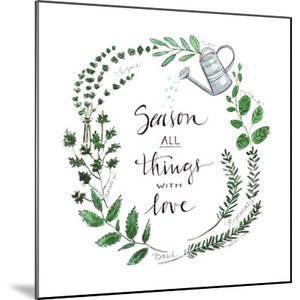 Season All Things with Love by Elizabeth Tyndall