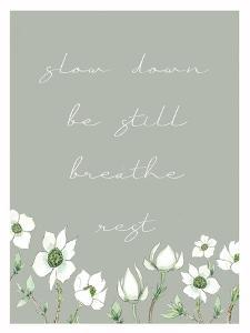 Slow Down by Elizabeth Tyndall