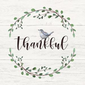 Thankful Sign by Elizabeth Tyndall