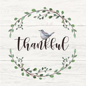 Thankful Sign by Elizabeth Tyndall