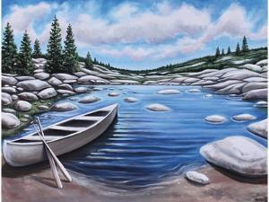 The Canoe by Elizabeth Tyndall