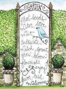 The Garden Trellis by Elizabeth Tyndall