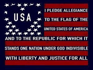 USA Flag by Elizabeth Tyndall