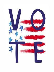 Vote Flag by Elizabeth Tyndall
