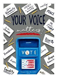 Your Voice Matters by Elizabeth Tyndall
