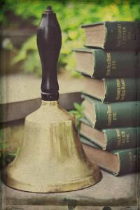 Teachers Bell and Books by Elizabeth Urqhurt