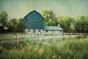 Blissful Country III Crop by Elizabeth Urquhart