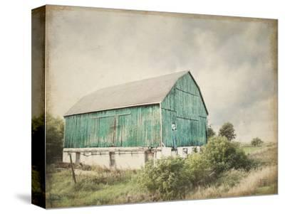 Late Summer Barn I Crop Vintage by Elizabeth Urquhart