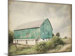 Late Summer Barn I Crop Vintage by Elizabeth Urquhart