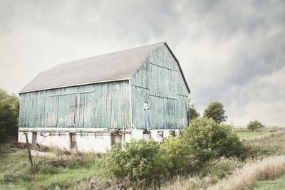 C Cornfield With A Barn And Silos Art Print Home Decor Wall Art Poster