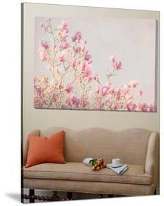Pink Tree Tops I by Elizabeth Urquhart