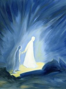 Even in the Darkness of Out Sufferings Jesus Is Close to Us, 1994 by Elizabeth Wang