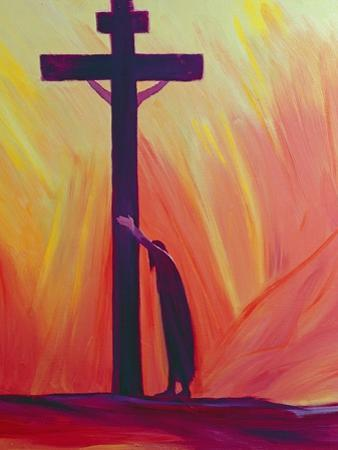 In Our Sufferings We Can Lean on the Cross by Trusting in Christ's Love, 1993 by Elizabeth Wang