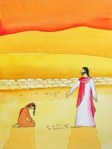Jesus Forgives the Woman Caught in Adultery, 2006 by Elizabeth Wang