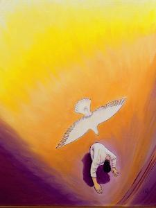 The Same Spirit Who Comforted Christ in Gethsemane Can Console Us, 2000 by Elizabeth Wang
