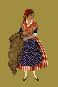 Fisher Woman from Nice by Elizabeth Whitney Moffat