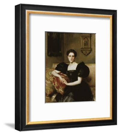 Elizabeth Winthrop Chanler (Mrs. John Jay Chapman), 1893-John Singer Sargent-Framed Art Print