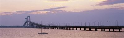 Newport Bridge, Narragansett Bay, Rhode Island, USA