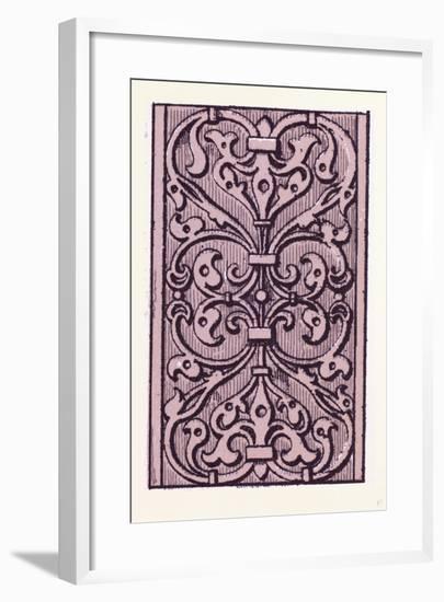 Elizabethan Ornament--Framed Giclee Print
