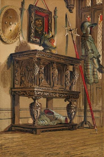 'Elizabethan Sideboard or Court Cupboard', c1845, (1864)-Unknown-Giclee Print