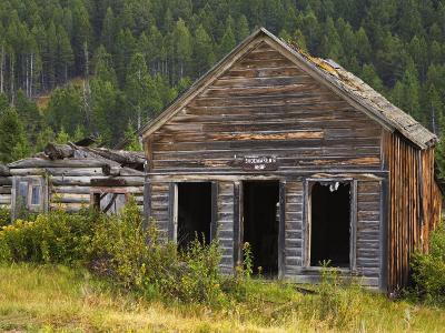 Elk Horn Ghost Town State Park, Boulder, Helena Region, Montana, USA-Richard Cummins-Photographic Print