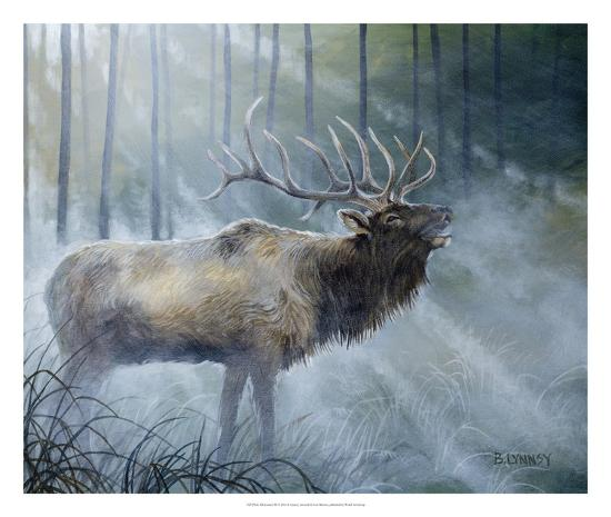 Elk Journey III-B^ Lynnsy-Art Print