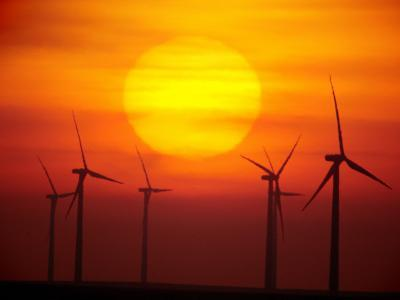 Elk River Wind Project Is a 150 Megawatt Wind Energy Project-Mark Thiessen-Photographic Print