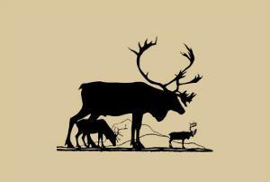 Elk Silhouette I