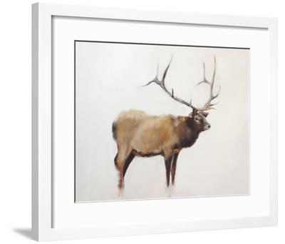 Elk-Jacqueline Neuwirth-Framed Art Print