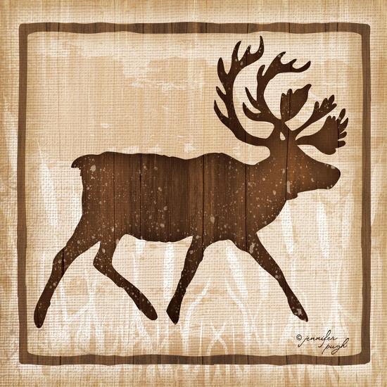 Elk-Jennifer Pugh-Art Print
