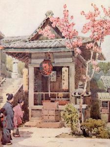 A Buddhist Shrine by Ella Du Cane
