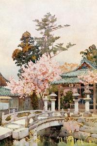 A Shrine at Kyomidzu by Ella Du Cane