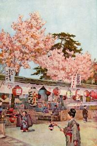 The Feast of the Cherry Blossoms by Ella Du Cane