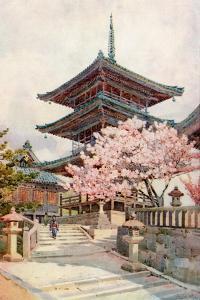 The Pagoda, Kyomidzu by Ella Du Cane