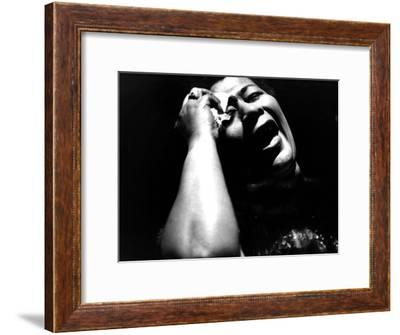 Ella Fitzgerald (1917-1996) American Jazz Singer C. 1960--Framed Photo