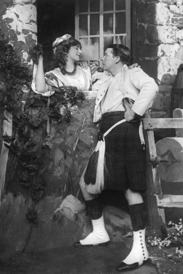 Ellaline Terriss and Seymour Hicks in the Gay Gordons, C1907--Giclee Print