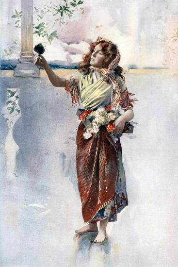 Ellaline Terriss in Bluebell in Fairyland, C1902- Ellis & Walery-Giclee Print