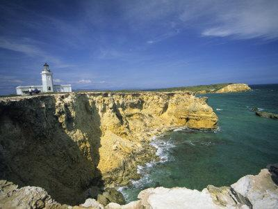 Faro De Cabo Rojo Lighthouse, The Pasaje De La Mona, Puerto Rico